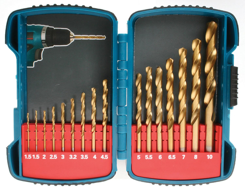 Makita P-51873 Straight Shank Titanium HSS Drill Set 16 Piece & Compact Case £10 @ B&Q