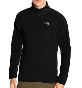 North Face Men's Glacier Delta 1/4 Zip Jacket Fleece (size M  and L only) @ Amazon for £28