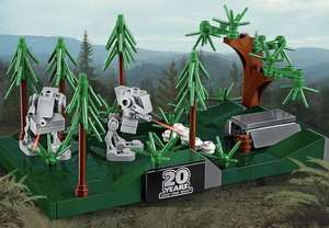 Free Lego Star Wars Endor Microbuild with purchase of £75 or more & double VIP Points @ Lego