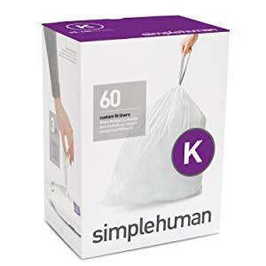 simplehuman Code K, Custom Fit Bin Liners, 60 Liners, White, 35-45 L - £13.81 @ Amazon (£19.30 Non-prime)