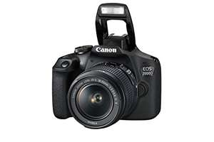 Canon EOS 2000D DSLR Camera and EF-S 18-55 mm f/3.5-5.6 IS II Lens - £299.99 @ Amazon