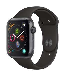 Apple Watch Series 4 (GPS, 44mm) - Space Grey Aluminium Case with Black Sport Band - £359 @ Amazon