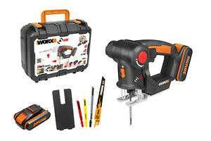 WORX WX550.2 18V (20V MAX) AXIS Multi-Purpose Cordless Saw With 2 x 2AH batteries & charger £76.49 @ Worx Official eBay store