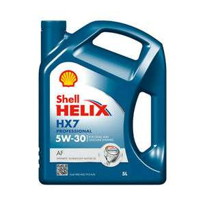 SHELL Helix HX7 Professional AF 5W30/10W40 Semi Synthetic 5L Engine Oil, £15.83/£14.16 at carpartssaver/ebay