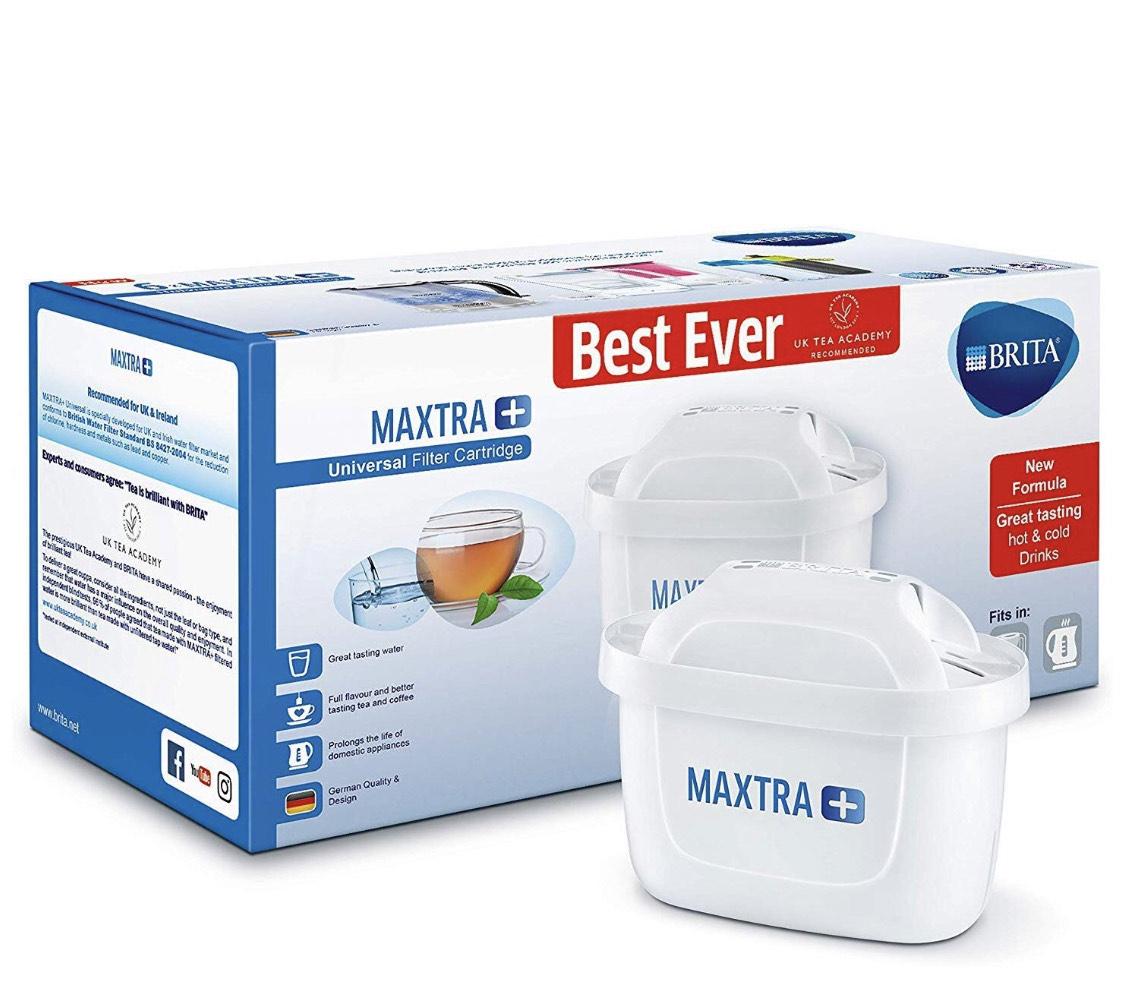 BRITA Maxtra+ water filter cartridge - 6 pack £20.99 @ Amazon