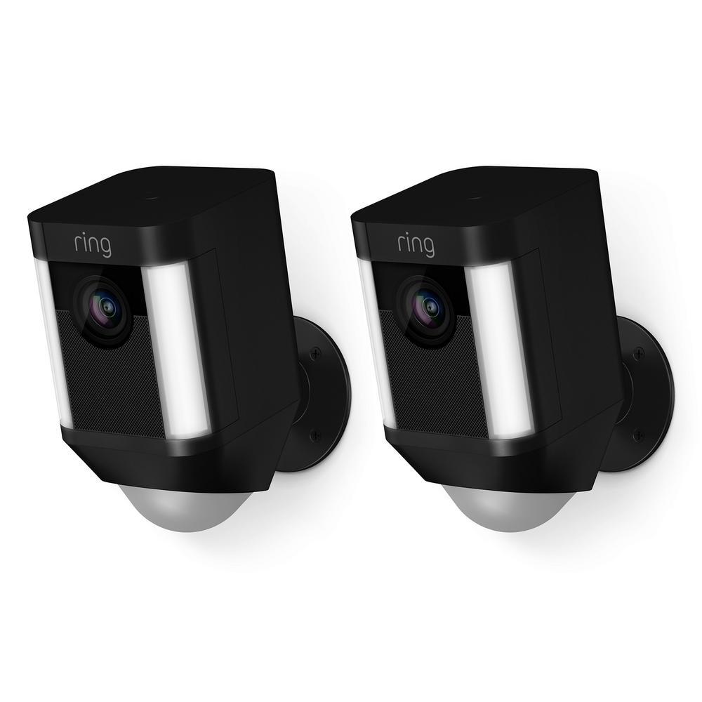 Ring Battery Spotlight Camera in Black - 2 Pack £239.99 @ Costco