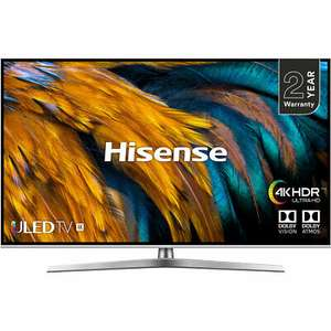 Hisense H50U7BUK U7B 50 Inch TV Smart 4K Ultra HD LED Freeview HD 4 HDMI £404.1 @ AO eBay