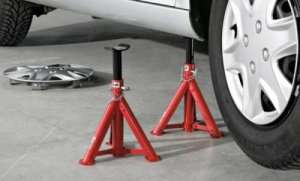 Ultimate Speed Axle Stands - 2 pack £9.9 @ Lidl