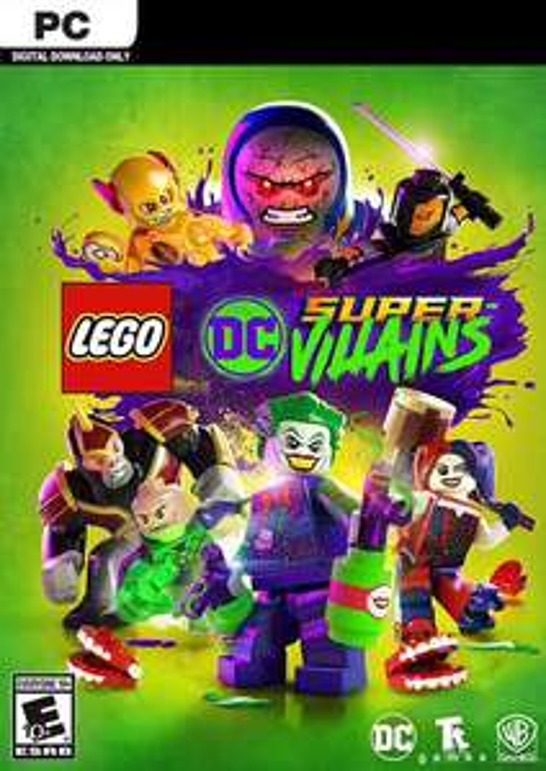 Lego DC Super-Villains PC £6.49 @ CDKeys