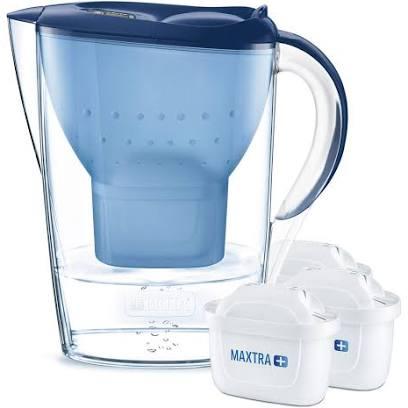 BRITA Marella water filter jug starter pack, includes 3 MAXTRA+ Blue Filters £15.99 @ Amazon (+£4.49 Non-prime)
