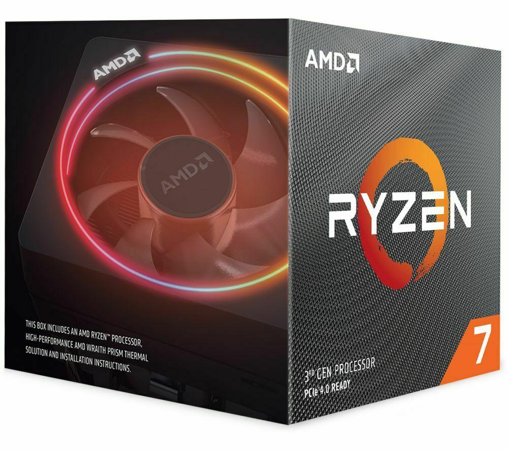 AMD Ryzen 7 3800X Processor £342.00 @ Currys eBay