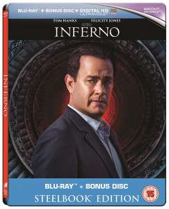 Inferno (Steel Book) [Blu-ray] £4.99 @ Zoom