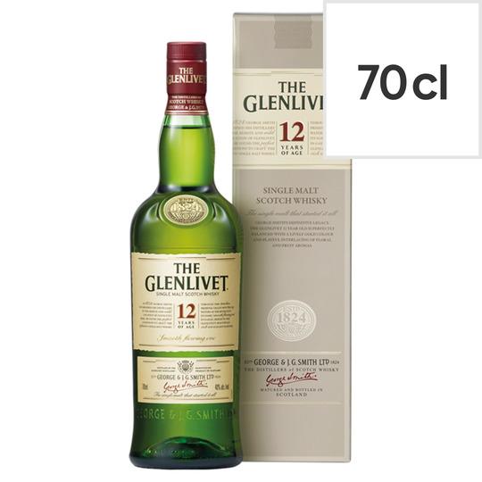 The Glenlivet 12Yr Old Malt Whisky 70Cl £20 @ Tesco Express (Northenden)