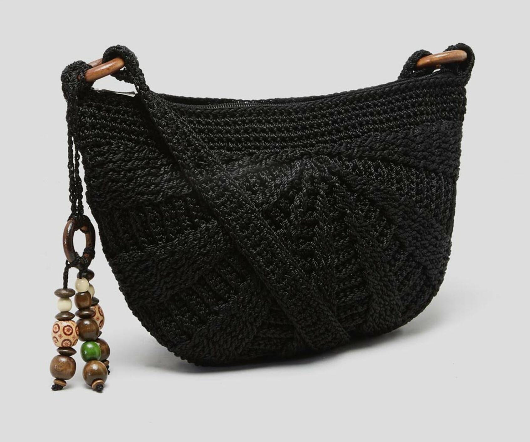 Crochet Moon Cross-Body Bag £4 @ Matalan (Free C&C)