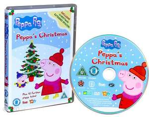 Peppa Pig Xmas (Peppa's Christmas and santa' s grotto)  DVD 99p instore at Home Bargains