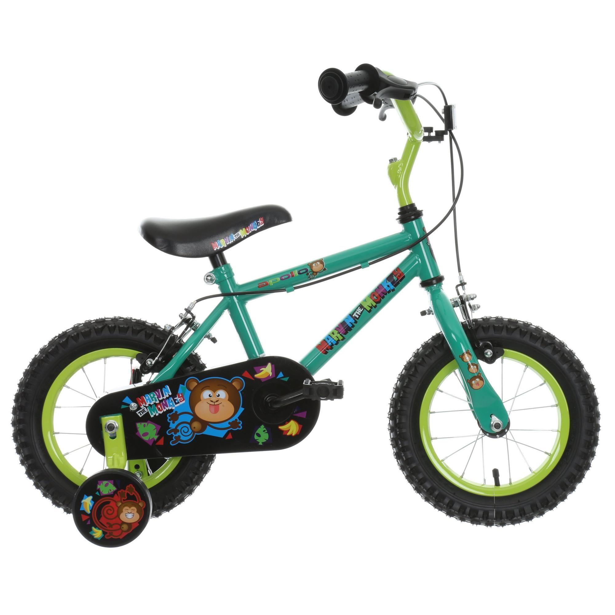 "Halfords Marvin The Monkey Kids Bike - 12"" wheels - £45 @ Halfords"
