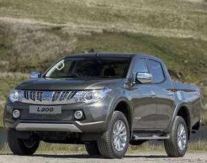 Mitsubishi L200 Double Cab Di-D 178 Warrior 4WD - 24m lease - 8k miles p/a - £1260 initial + £210pm + £180 admin = £6270 @ Leasing Options