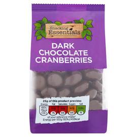 Snacking - Essentials - Dark Chocolate Cranberries -150g - £1 Instore @ Iceland
