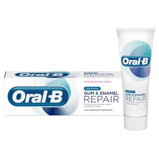 Oral-B Original Gum & Enamel Repair Toothpaste 75Ml - £3.00 at Tesco