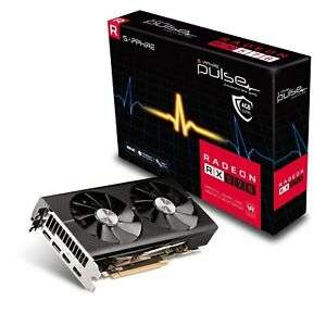 Sapphire Radeon RX 570 Pulse 4GB Graphics Card - £112.54 at CCL/ebay-with code(free game pass)