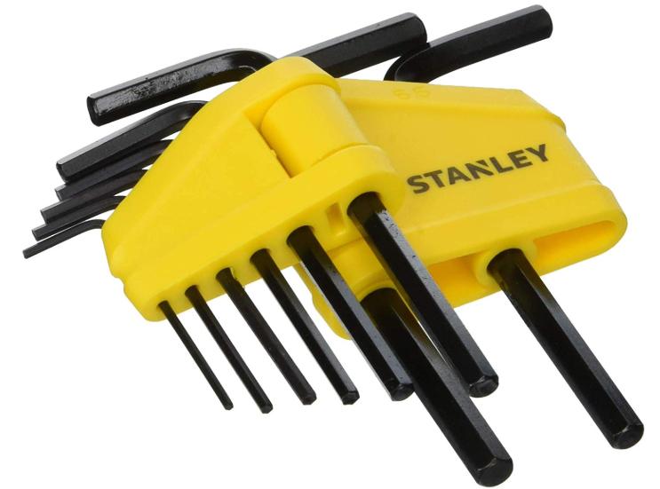 Stanley (Set of 8) 0-69-251 metric Hex Key Set - £3.12 (Add on Item) @ Amazon