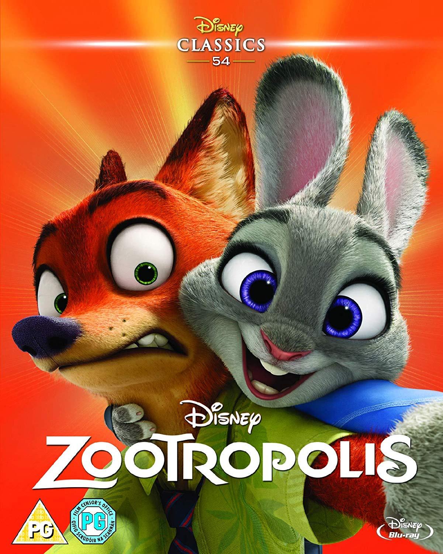 Zootropolis [Blu-ray] [2016] - £6.09 (£9.08 Non Prime) @ Amazon