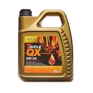 TRIPLE QX Fully Synthetic Engine Oil - 5W-40 - 5ltr - £16.49 (With Code) @ Euro Car Parts