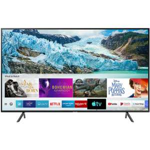"Samsung UE50RU7100 50"" Smart 4K Ultra HD TV with HDR10+, Apple TV and Slim Design + Free FIFA 20 with Samsung 4k TV - £399 @ AO"
