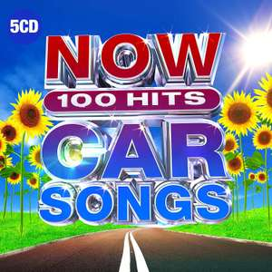 NOW 100 Hits Car Songs by Various Artists - £8 @ Amazon Prime (+£2.99 P&P Non-Prime)