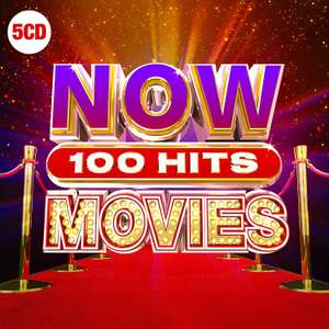 NOW 100 Hits Movies by Various Artists - £8 @ Amazon Prime (+£2.99 P&P Non-Prime)