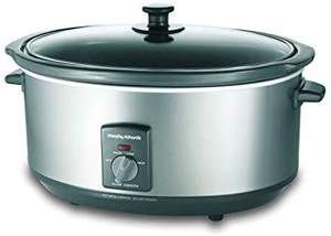 Morphy Richards - 6.5L Silver Slowcooker £23.99 @ Amazon