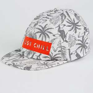 """Just chill"" slogan boys cap £1 in-store only at Asda"