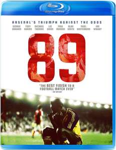 89 - How Arsenal did the impossible Blu Ray at Amazon for £2.56 Prime / £4.55 non Prime