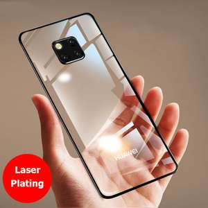 Huawei Mate 20 Pro Luxury  transparent case at AliExpress/Muchi Store for 1p (new users only)