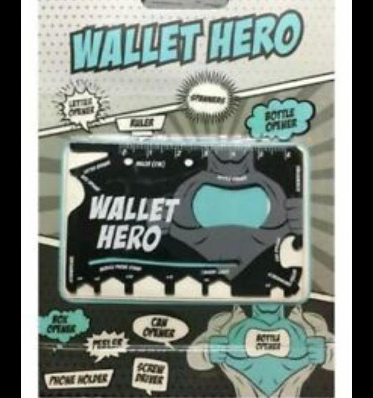 Wallet Hero Multitool instore at Poundland £1