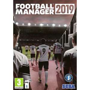 Football Manager (FM) 2019 PC/Mac (EU) at CDKeys for £8.99