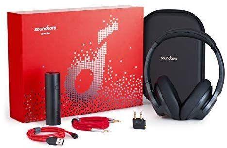 Soundcore Life 2 Gift Set W/Headphones, Plane Adapter, AUX Cable, 5000 Powerbank + More £48.07 @ Anker DE Amazon