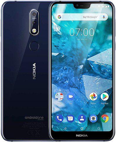 Grade B Used Nokia 7.1 32GB Blue, Vodafone Smartphone £105 @ Cex