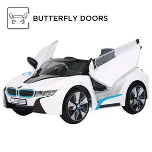 Rollplay BMW i8 Spyder Children's 12V Electric Ride On White (3+ Years) £149.89 at Costco