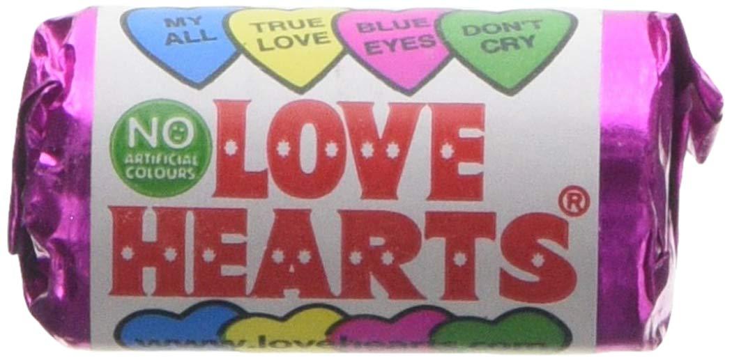 Mini Love Heart Rolls x50 - £3.49 / x30 for £2.50 Delivered @ Monmore Confectionery via Amazon