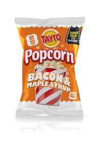 tayto bacon and maple syrup popcorn 49p instore @ Home Bargains Morley