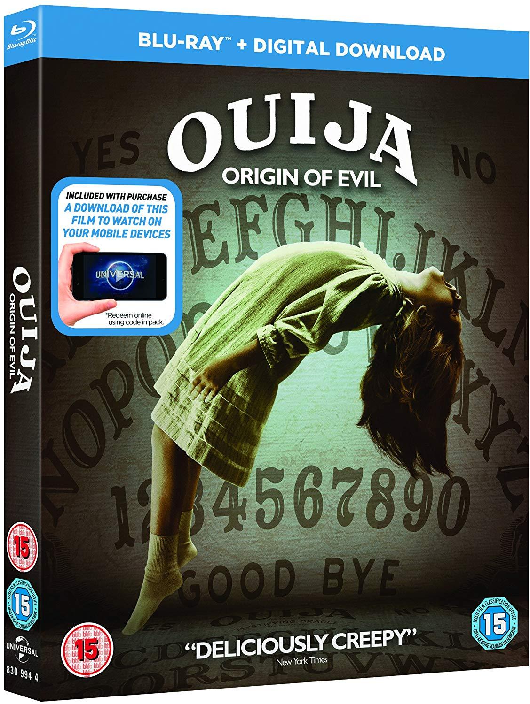 Ouija Origin of Evil blu-ray £1.67 at Amazon Prime / £4.66 Non Prime