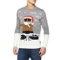 BLEND Men's Pullover Christmas Jumper, SIZE:XL £6.89 @ Amazon Add On Item