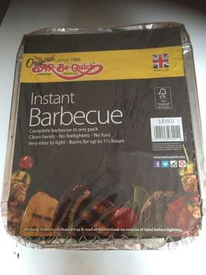 Instant (throw away) Barbecues £1.17 - ASDA instore