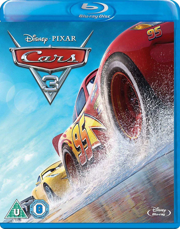 Cars 3 [Blu-ray] [2017] [Region Free] - £4.39 @ Amazon Prime (+£2.99 P&P non-Prime)