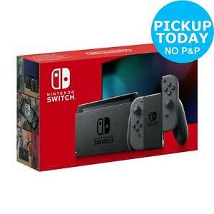 Nintendo Switch Console - Grey with improved battery £251.99 with code @ ebay / Argos