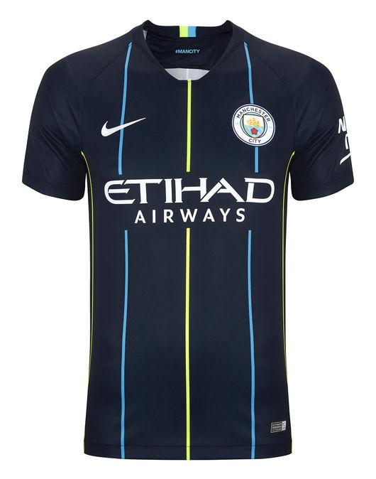 NIKE Adult MAN CITY 18/19 Away Shirt £20 @ Lifestylesports.com