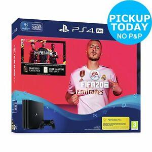 Sony PS4 Pro 1TB Console & FIFA 20 £278.99 with code @ Argos ebay