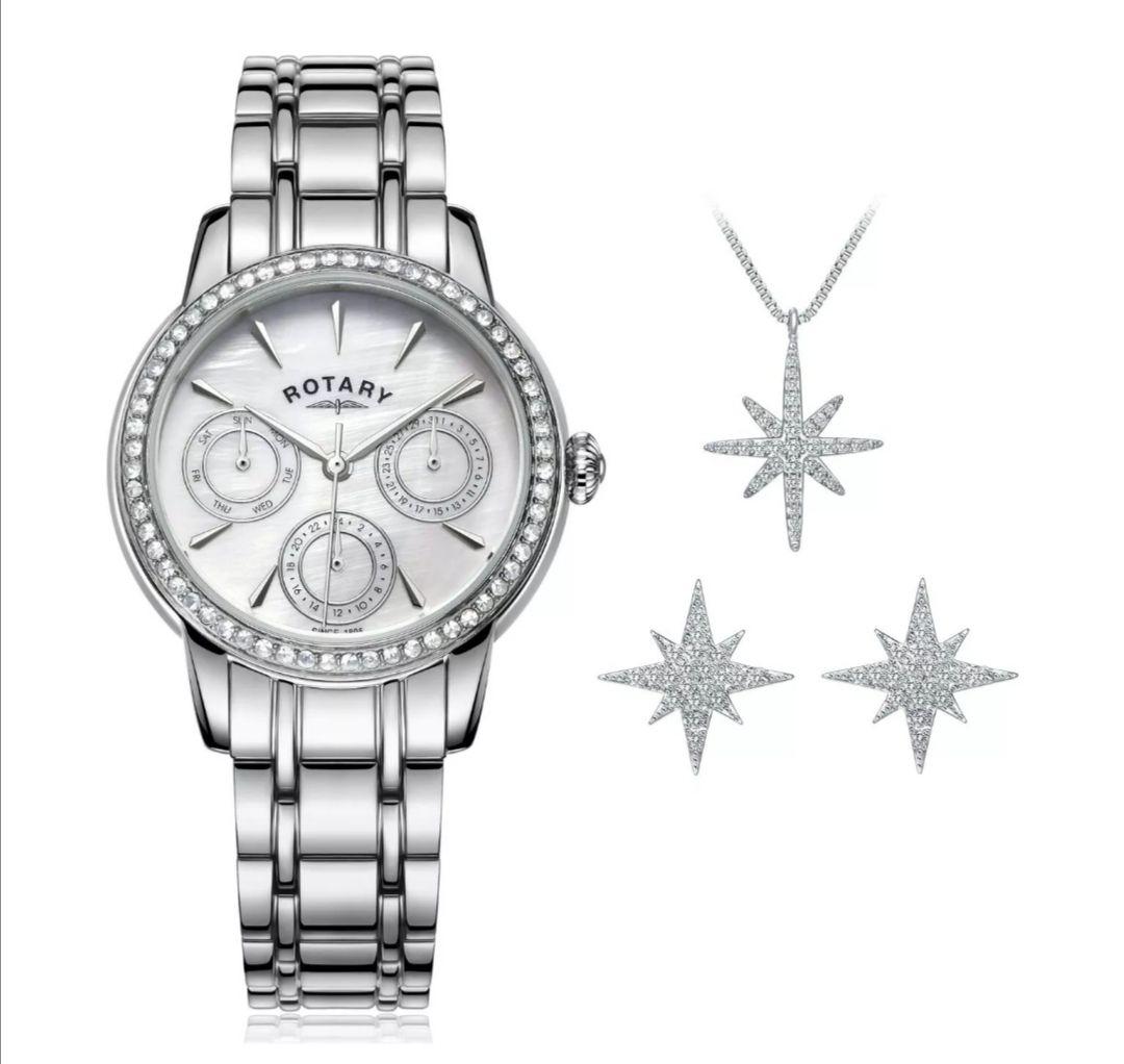Rotary Ladies' Multi Dial Watch and Jewellery Set £22.99 @ Argos Ebay