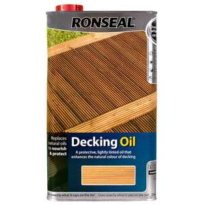 Ronseal Decking Oil and Reviver £4.76 @ Costco Watford